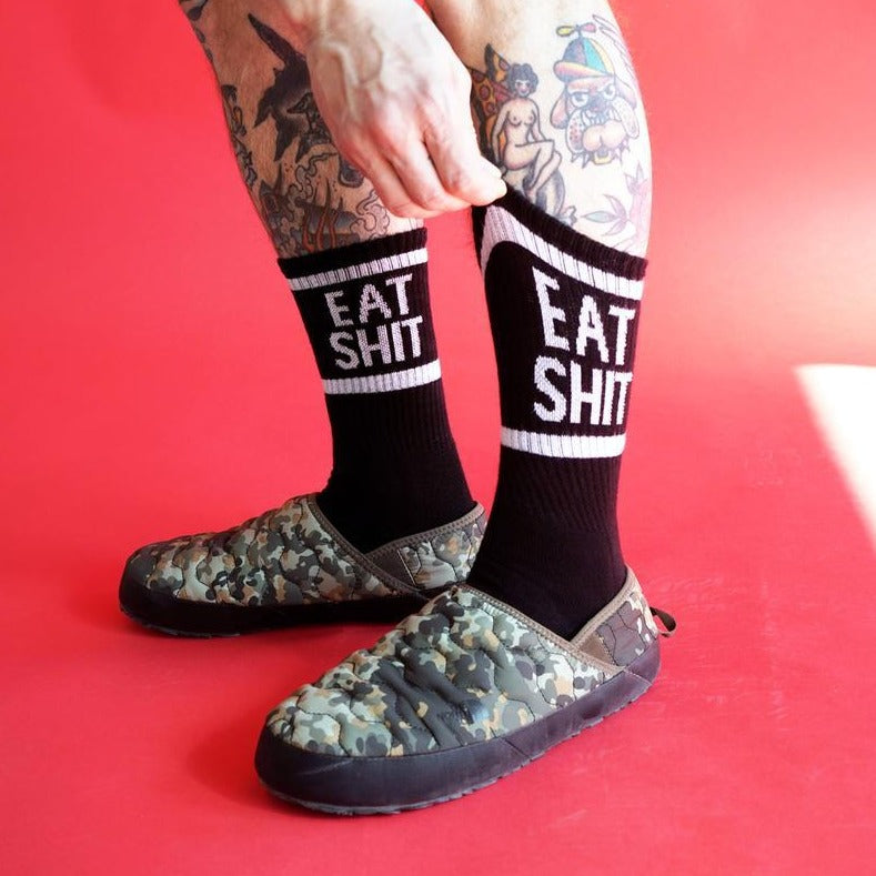 Eat Shit Socks - Black