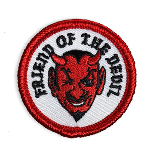 Friend Of The Devil - Mini Patch - World Famous Original