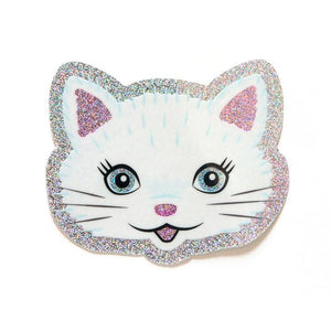 Glitter Cat Sticker - World Famous Original