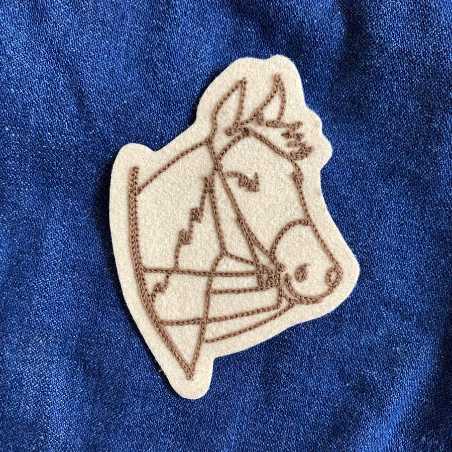 Horse - Chainstitch Patch - World Famous Original