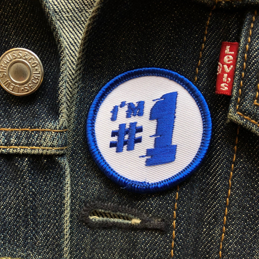 I'm #1 - Mini Patch - World Famous Original