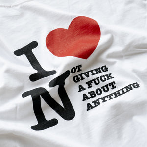"""Love"" T-Shirt - White"