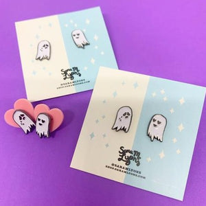Tiny Ghosts - Enamel Pin Set
