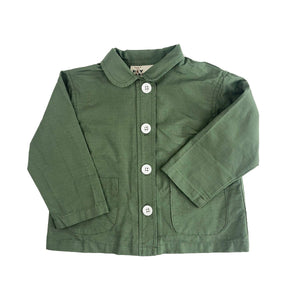 Kids Chore Coat Army Ripstop - World Famous Original