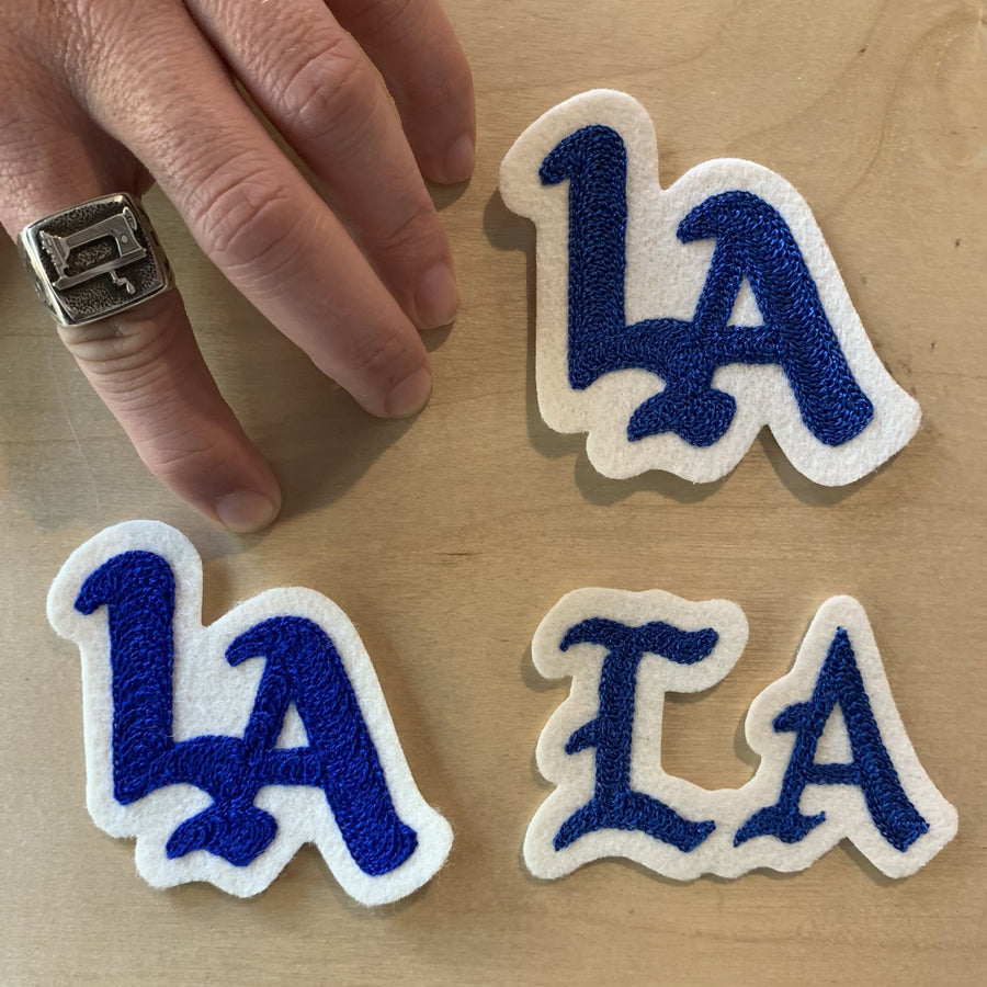 LA Los Angeles Chainstitch Patch - World Famous Original