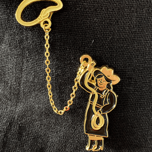 Lasso Chain Pin - World Famous Original