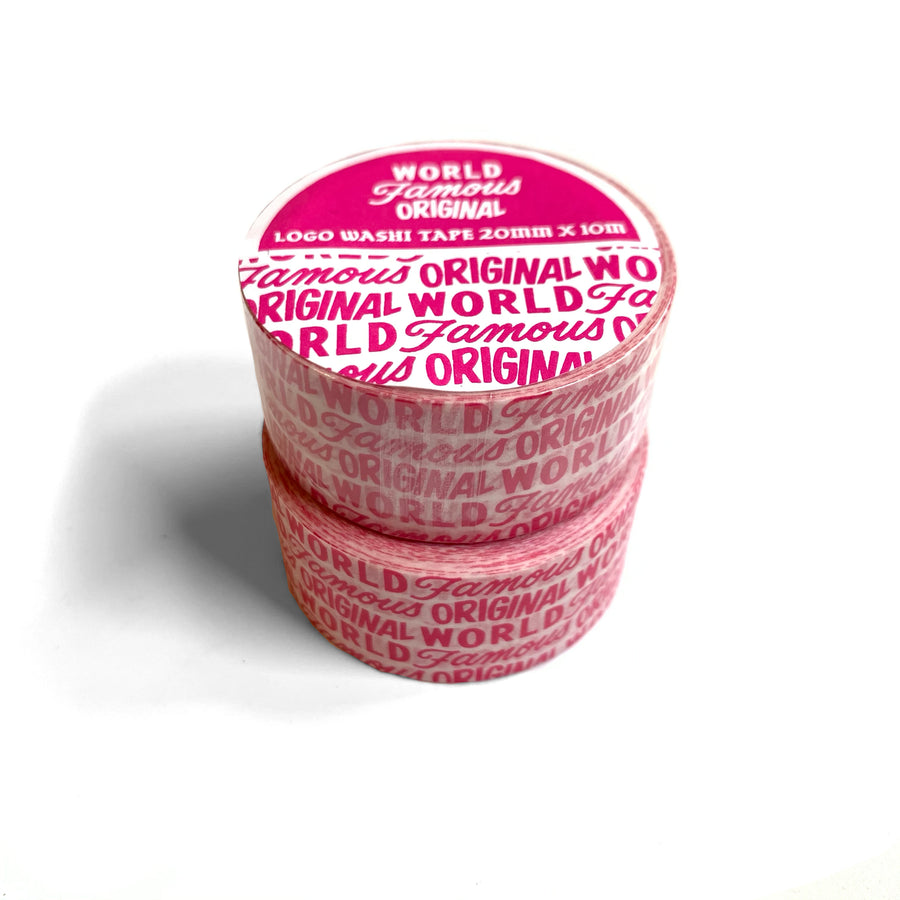 World Famous Original Logo Washi Tape