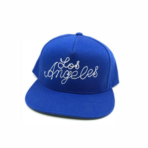"""Los Angeles"" Snapback Blue - World Famous Original"