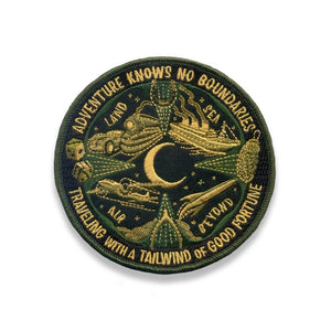 Lucky Travel Patch - Adventure Knows No Boundries - World Famous Original