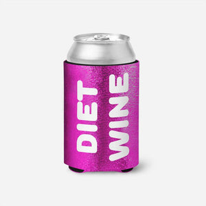 Diet Wine Drink Koozie
