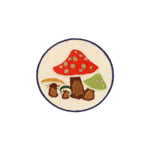 Mushrooms (Circle) Patch