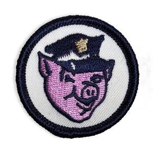 Officer - Mini Patch - World Famous Original