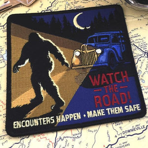 Watch the Road! Bigfoot Encounters Patch