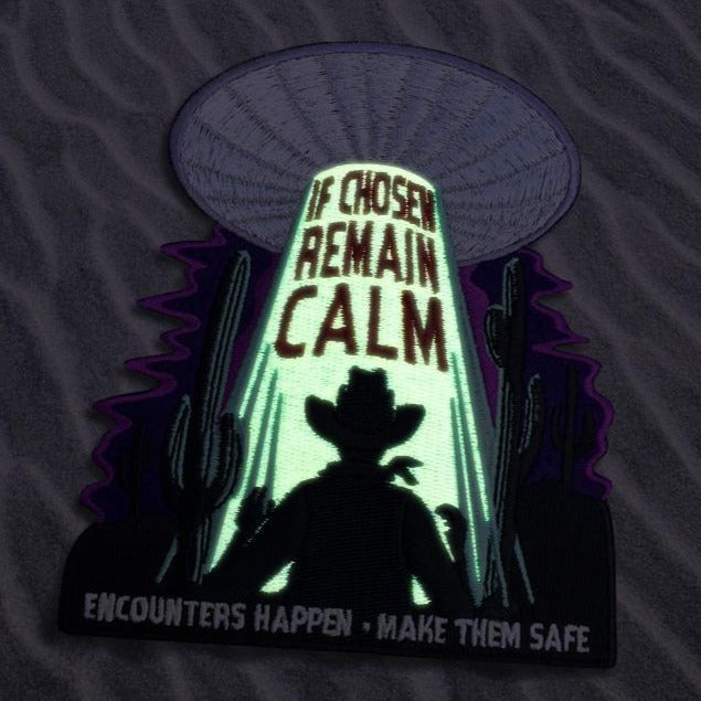 If Chose Remain Calm - Alien Patch