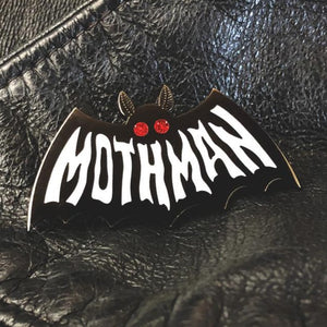 Mothman Pin Glow in the Dark!