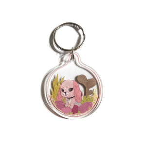 Planty Pup Keychain w/ Stickers - World Famous Original