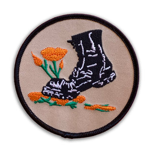 Stamp Out Poppies Patch