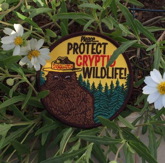 Protect Crypid Wildlife Patch - World Famous Original