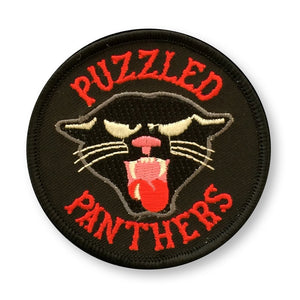 Puzzled Panthers Patch - World Famous Original