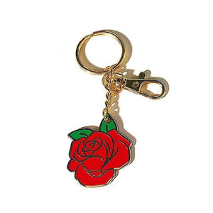 Red Rose Keychain - World Famous Original