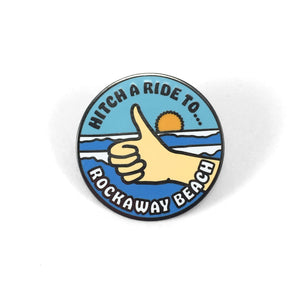Rockaway Beach Pin - World Famous Original