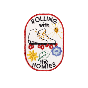 Rolling With The Homies Patch - World Famous Original