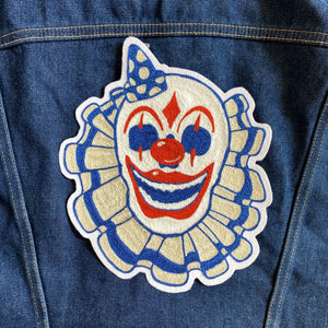 Scary Clown - Handmade Chainstitch Patch - World Famous Original