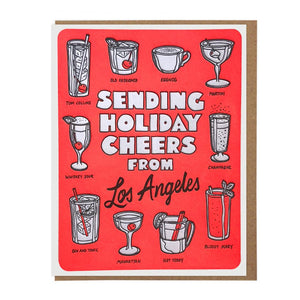 Sending Holiday Cheers from Los Angeles - World Famous Original