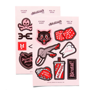 Sticker Sheet Set - Hellcats