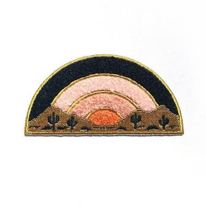 Sundown Chenille Patch - World Famous Original
