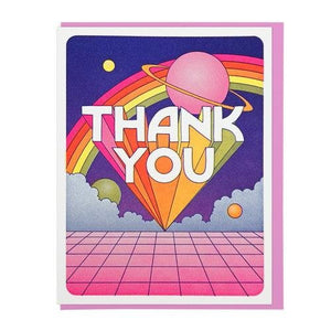 Thank You Universe Card - World Famous Original