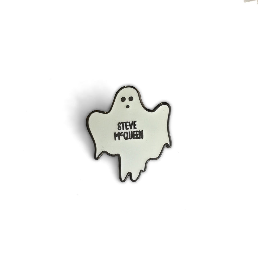The Ghost Of Steve McQueen Pin - World Famous Original