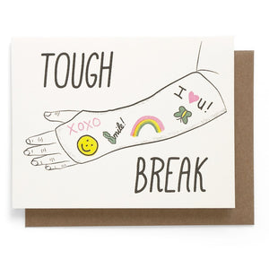 Tough Break Card - World Famous Original