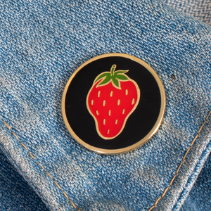 Soviet Strawberry Enamel Pin