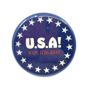 USA 1776-2019 Button - World Famous Original