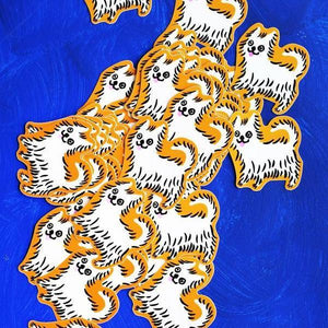 Westie Dog Sticker - World Famous Original