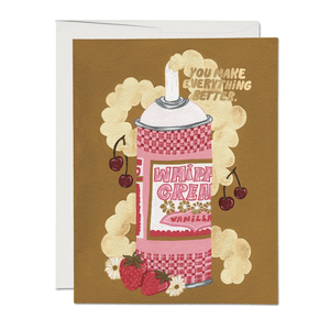 Whipped Cream Card - World Famous Original