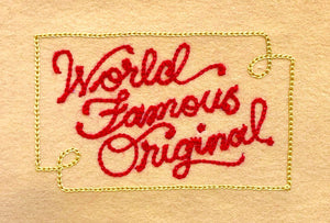 World Famous Original Gift Card - World Famous Original