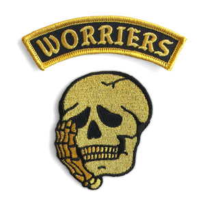 Worriers Anxiety Club Patch Set - MINI VERSION - World Famous Original