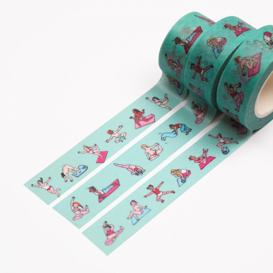 Yoga Washi Tape