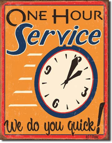 Moore - One Hour Service - 1194