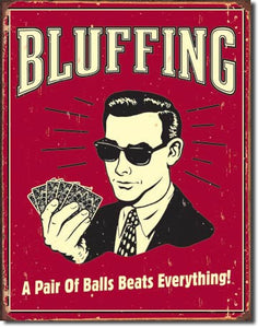 Bluffing - Pair of Balls - 1330