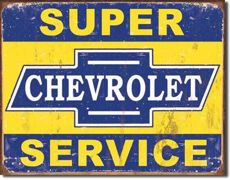 Super Chevy Service - 1355