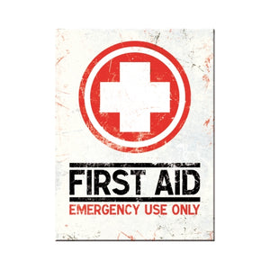 First Aid - Emergency Use Only