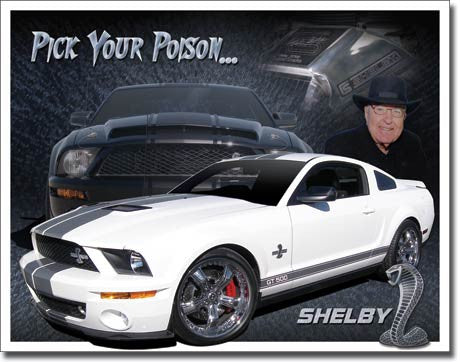 Shelby Mustang - You Pick - 1610