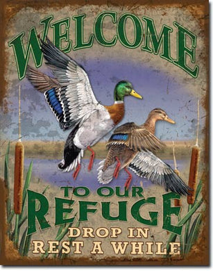 Welcome to our Refuge - 1674
