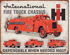 International Fire Truck Chassis - 1680