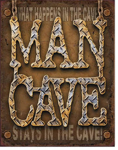 Man Cave - Diamond Plate - 1701