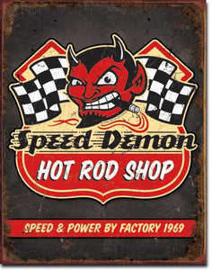 Speed Demon Hot Rods - 1744