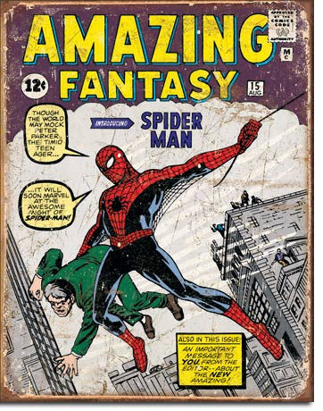 Spider Man Comic Cover - 1971